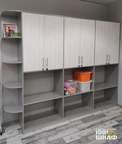 Шкаф в детскую для книг и игрушек