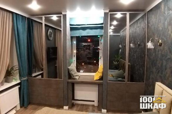 Корпусные шкафы с комбинированными фасадами