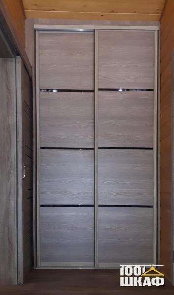 2-х дверный шкаф-купе для одежды