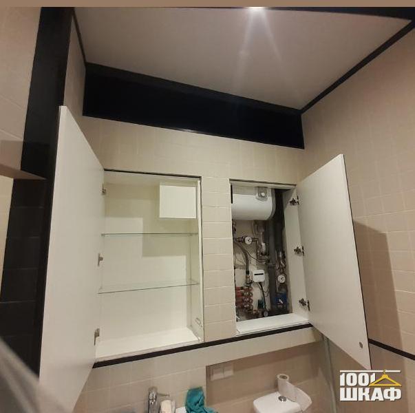 Встроенные шкафы с зеркальными фасадами