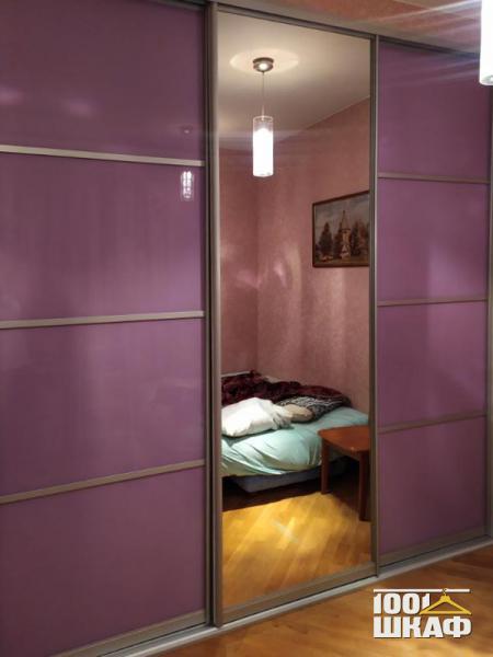 Встроенный шкаф-купе для одежды