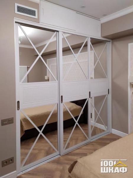 Встроенный шкаф-купе в спальную комнату
