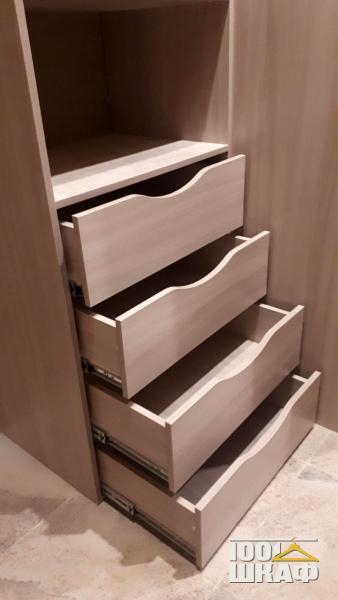 выдвижные ящики в гардеробную