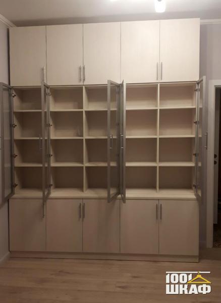 Книжный шкаф-купе для библиотеки от производителя