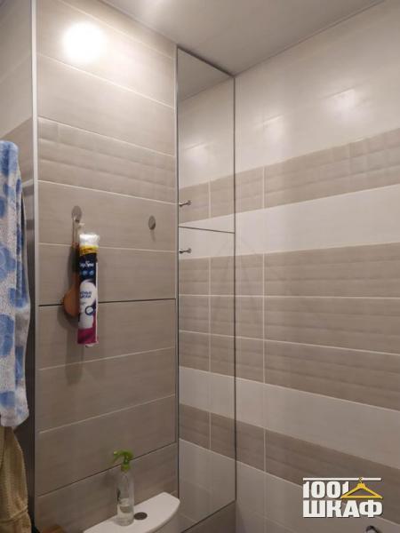 Встроенный шкаф в ванную комнату на заказ