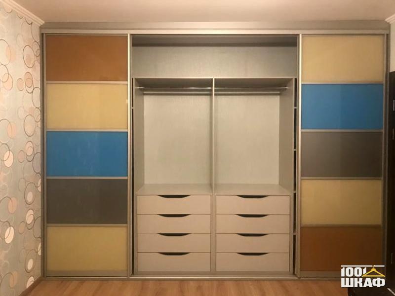 Встроенный шкаф купе по индивидуальному проекту