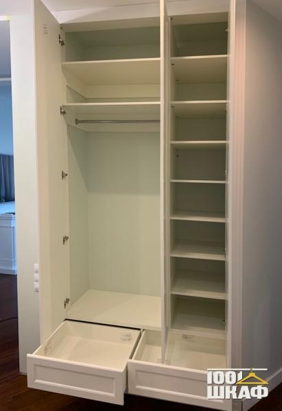 встроенный шкаф с наполнением