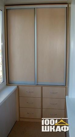 Комплект мебели для лоджии - мебель и шкафы купе для лоджии .