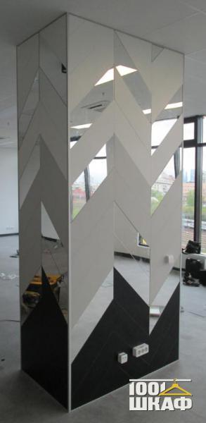 Дизайн колонны в интерьере