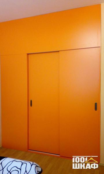 рыжий шкаф на заказ