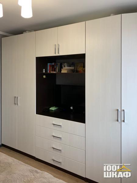 Вместительный распашной шкаф в комнату
