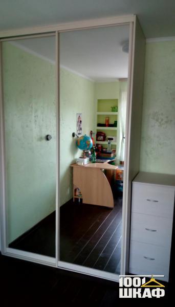 Зеркальный шкаф-купе с наполнением