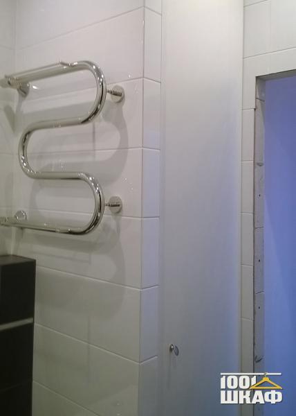 встроенный шкаф в ванную