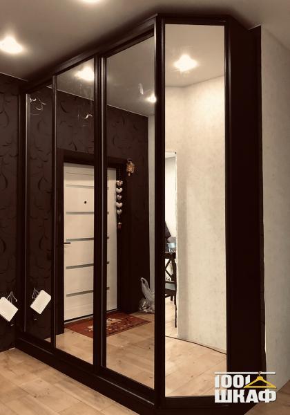 Зеркальный шкаф-купе на заказ