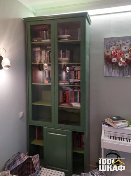 шкаф для книг на заказ