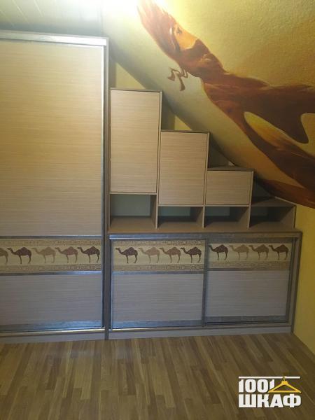 Мебель на мансарде