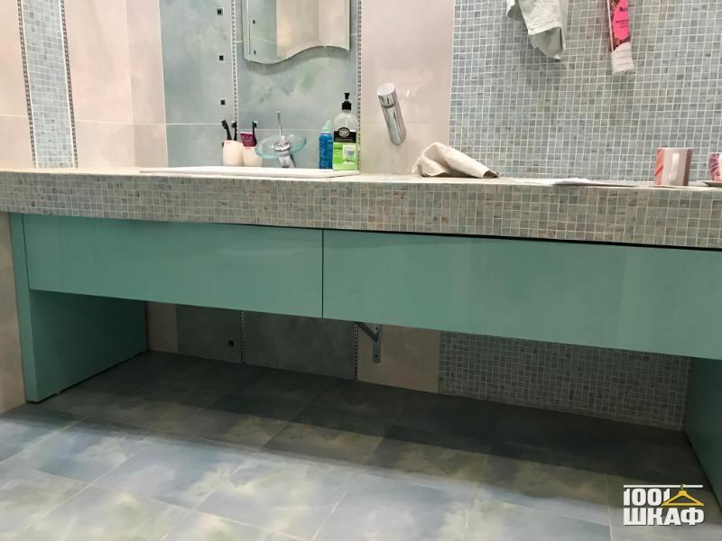 Тумба под раковину в ванную комнату
