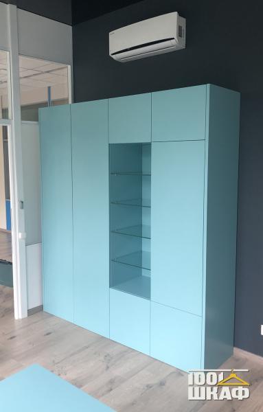 Цветной модульный шкаф на заказ
