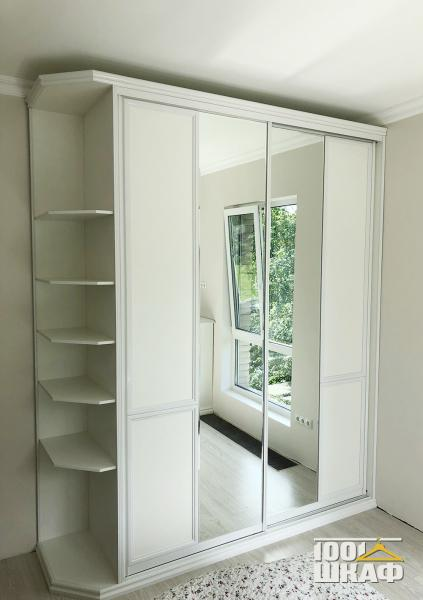 Шкаф в комнату из беленного бука