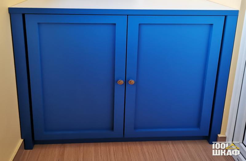 синяя тумба