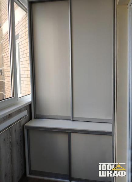 Шкаф технического назначения на лоджию