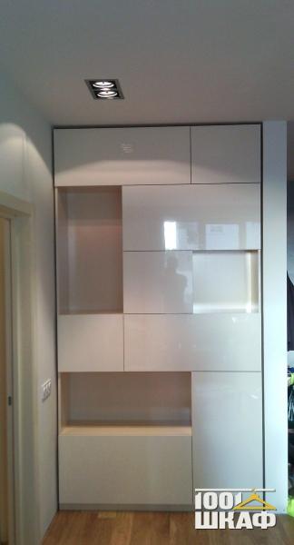 Белый глянец - мебель и шкафы в библиотеке галерея по мебели.